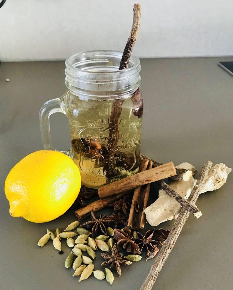 Lekker verwarmende herfst-thee