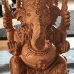 Ganesha was erbij